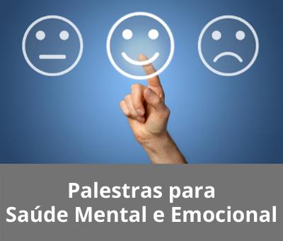 Palestras Saúde Mental e Emocional